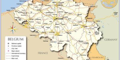 detaljerad karta över frankrike